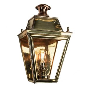 Large Balmoral Flush Lantern from Limehouse lighting