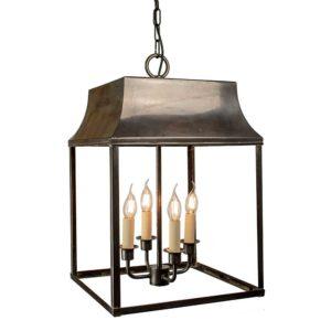 Large Strathmore Hanging Lantern from Limehouse lighting
