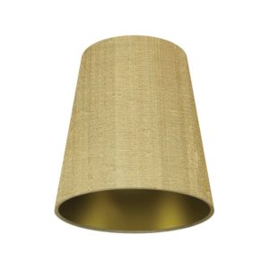 Gold lined card shade by the limehouse lamp company