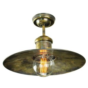 Large Edison flush ceiling by the limehouse lamp co