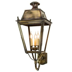 Large Balmoral lantern by The Limehouse Lamp co