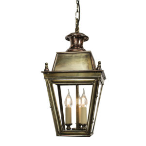 Balmoral 3 light Hanging Lantern from Limehouse lighting