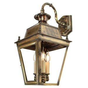 Balmoral Overhead Lantern with 3 light cluster from Limehouse lighting