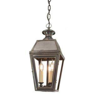 Kensington 3 light Hanging Lantern from Limehouse lighting