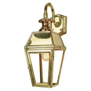 Kensington Overhead Wall Lantern by the limehouse lamp co