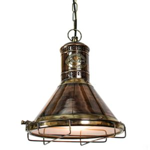 Freighter Pendant from Limehouse lighting
