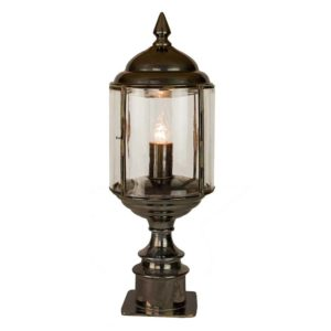 Wentworth Short Pillar Lamp by the limehouse lamp co