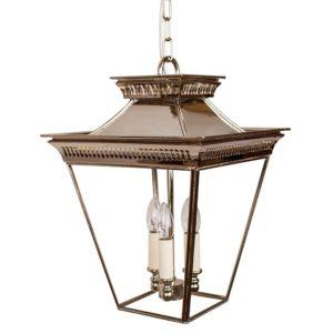 Medium 3 light Pagoda Lantern from Limehouse lighting