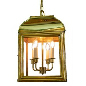 The Hemingway Large Hanging Lantern by the limehouse lamp co