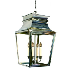 Parisienne extra Large Hanging Lantern from Limehouse lighting
