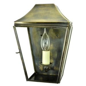 Knightsbridge Small Wall Lantern from Limehouse lighting