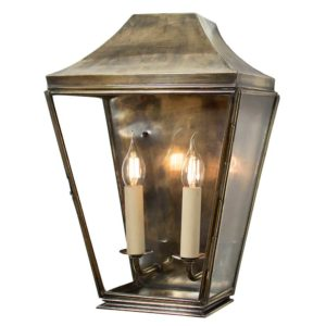 Knightsbridge Large Wall Lantern from Limehouse lighting
