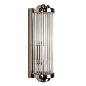 Small Gatsby Art Deco Wall Light by the limehouse lamp co