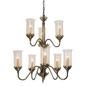 Gothic large chandelier from Limehouse lighting