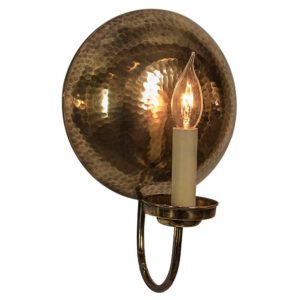 The La Luna Wall Light (Small) by the limehouse lamp company