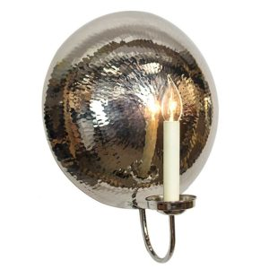 The La Luna Wall Light Large by the limehouse lamp co
