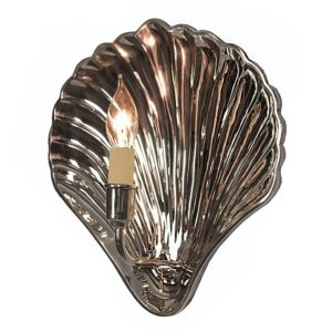 Oyster Wall Light by The Limehouse Lamp Co