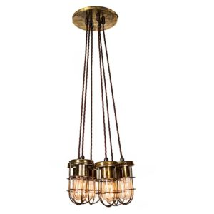 The Cellar 6 light cluster by the limehouse lamp co