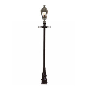 The Kensington post mount lantern by the limehouse lamp co