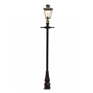 Pagoda Post Mount lantern by the limehouse lamp co