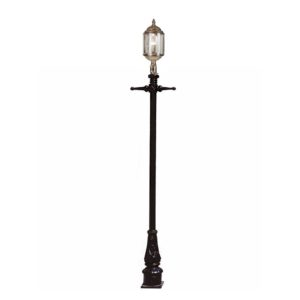 The Wentworth Post Mount lantern by the limehouse lamp co