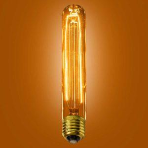 Ferrowatt Tubular Vintage Birdcage Bulb by The limehouse Lamp Co